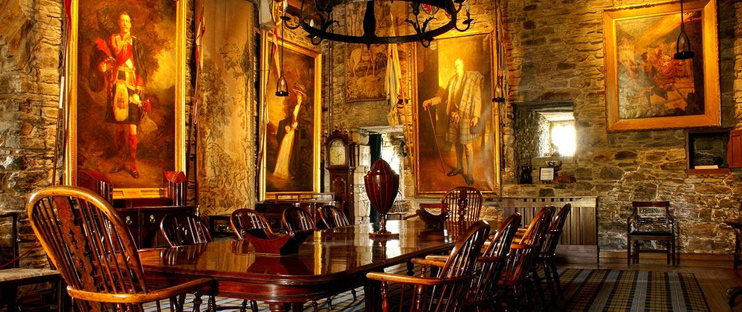 Eilean Donan - banqueting hall