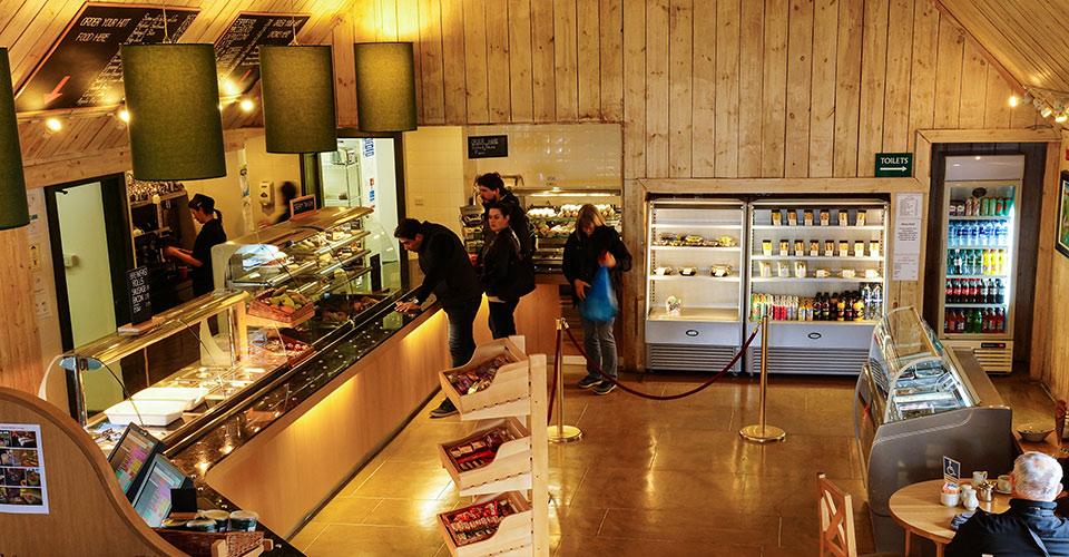 Eilean Donan coffee shop