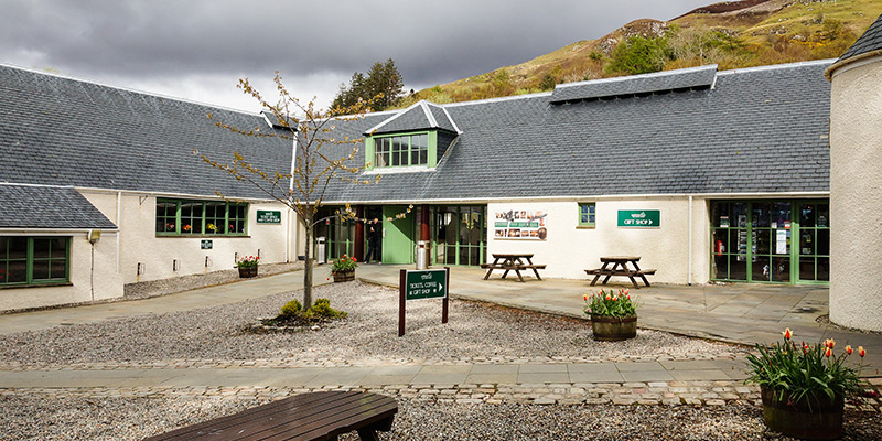 Eilean Donan - Visitor Centre