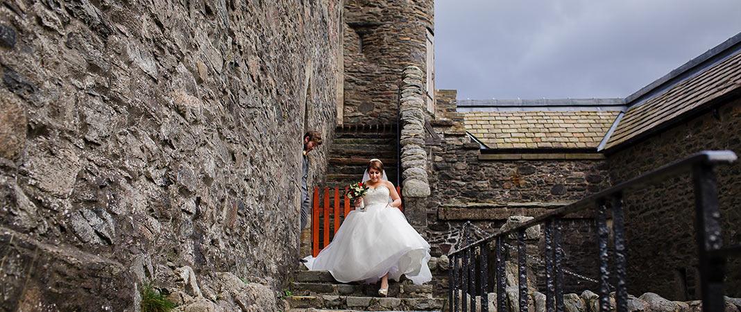Eilean Donan - Wedding Steps