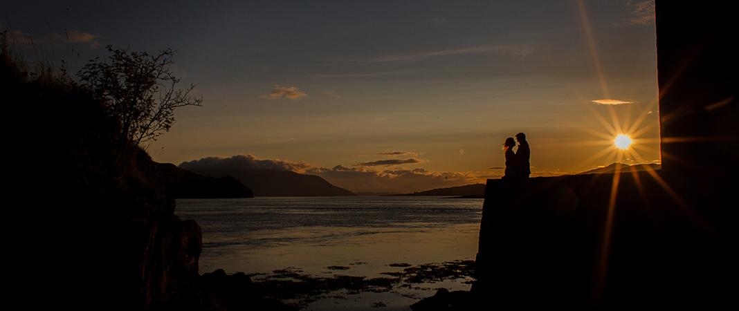 Eilean Donan - Wedding sunsets